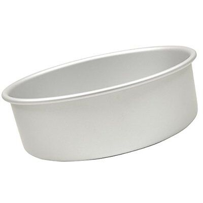 Fat Daddio's Anodized Aluminum Round Cake Pan 10in by 4in Round Cake Pans, New