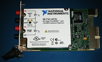 NI PXI-4070 6½-Digit DMM FlexDMM, National Instruments *Tested*