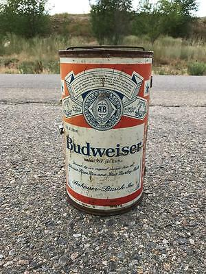 "Budweiser Big Beer Can BBQ Grill Folding Portable Vintage 14""x8"""