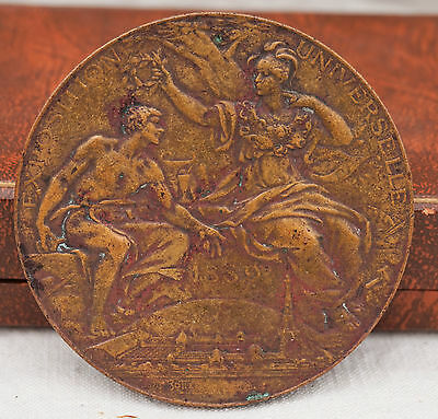 1889 Bronze Medal Award International Universal Exhibition of PARIS by L.Bottee