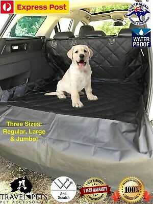 Car Boot Cover Liner Protection Dog Pets Animals Vehicle Waterproof Premium