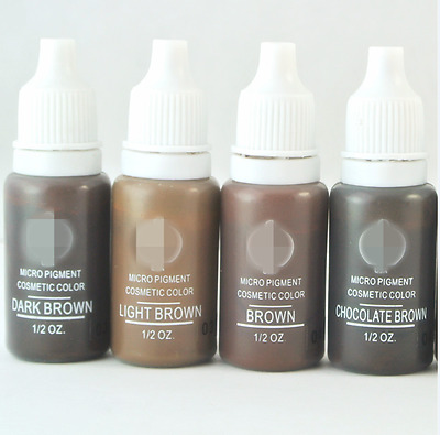 Permanent Makeup Tattoo ink 1 Micro Pigments Microblading Hot Sale Biotouch 4 pc