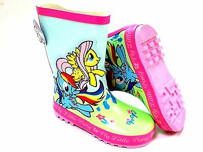 *Sale* Girls New My Little Pony Rubber Wellies Welly Wellington Boots Size 6 -12