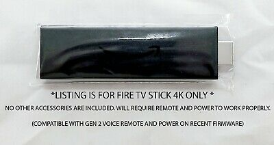 Amazon Fire TV Stick Only - NO Remote - NO Cables - Gen 2 -Model LY73PR 1080P HD