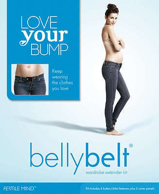 Fertile Mind BELLY BELT COMBO KIT! Maternity Pregnancy Band! 4 Pack FertileMind