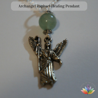 1 Archangel Raphael Healing Protection Lightworker Spiritual Pendant Necklace