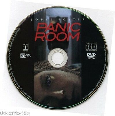 Panic Room (DVD) Jodie Foster, Forest Whitaker, Dwight Yoakam **Disc Only** *R*