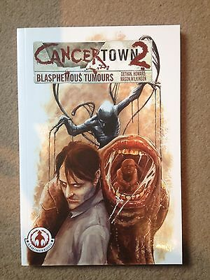 Cancertown 2 Graphic Novel - New - Signed