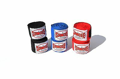 Sandee Boxing Hand Wraps Red Black Blue Adult Kids 2.5M 5M Stretch Mexican Thai