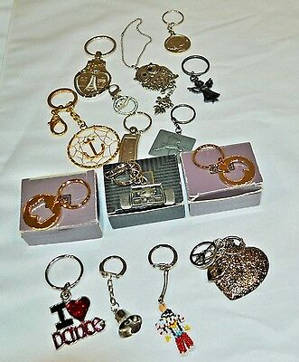 Huge lot of Vintage to now of mostly Key chains, 2 chains, 3 are New Avon Key ch