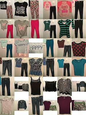 Girls Size 12 Clothing, Justice Tops, Jeans, Skirts, Clothes, Outfits Lot