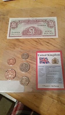 Great Britain Coin & Note Set