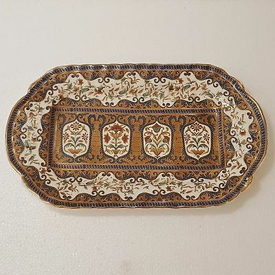 Rare 19th Austrian Vienna Style Porcelain Tray for Persian Qajar Market.
