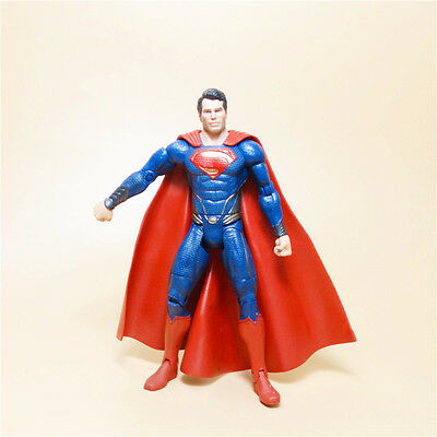 "Mattel DC Universe Man of Steel Movie Masters Superman ACTION FIGURE  LOOSE 6"" z"