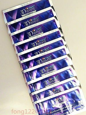 Crest3D White Whitestrips LUXE Professional Effects **10 Pouches 20 Strips**