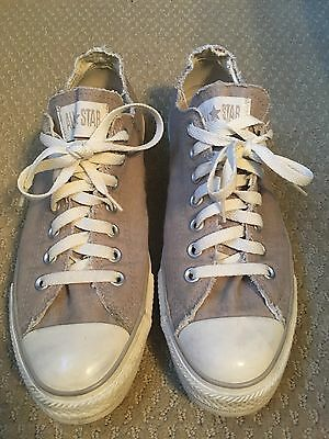Pre-loved CONVERSE Chuck Taylor All Star Low Sneakers US Men's-10 Oatmeal