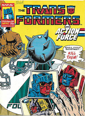 Transformers #192 (Marvel UK,  full colour throughout 28 pages) high grade