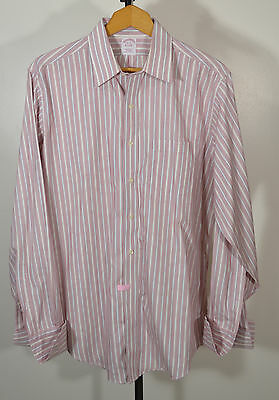 "Men's Brooks Brothers – ""16 – 35"" - Long Sleeve – Button Front Shirt–French Cuff"