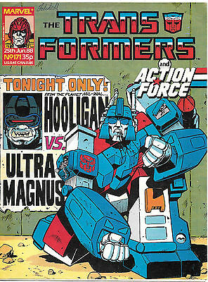 Transformers #171 (Marvel UK,  full colour throughout 28 pages) high grade
