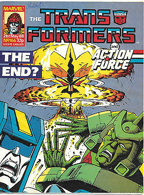Transformers #166 (Marvel UK,  full colour throughout 28 pages) high grade