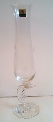 Luminarc France Dolphin Stemmed Champagne Glass