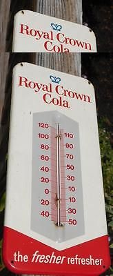 Royal Crown Cola / RC Thermometer Vintage Prob 1950's Good Cond Works See Pics