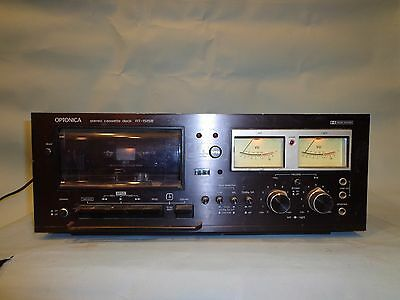 Optonica Rt-1515B Cassette Deck Dolby Micro Crystal Ferrite Heads For Fixin