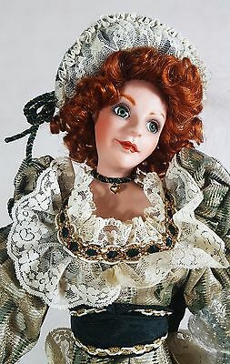 "Handmade Maureen of County Mayo Musical Doll 20"" Tall Franklin Mint"