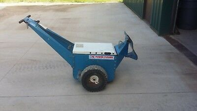 NU STAR POWER PUSHER Trailer Dolly Auto Mover Tugger Push Pad & Charger NUSTAR