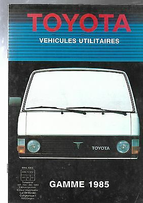 TOYOTA, gamme utilitaires
