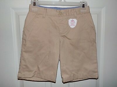 Gap Kids Boys Nanotex Gap Shield School Uniform Khaki Shorts~Size 16 Slim