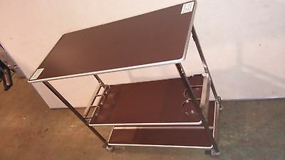 AIRLINE Bar CART Beverage TROLLEY 747 1st Class Patio Wine / Bottle Holding Tabl