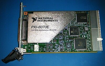 NI PXI-6070E Multifunction DAQ for PXI, National Instruments *Tested*