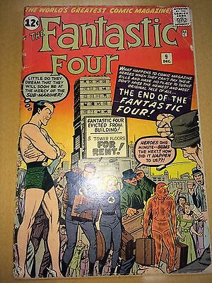 FANTASTIC FOUR 9 GD early Submariner