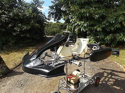 Mad Croc Rolling Kart Chassis X30/Rotax