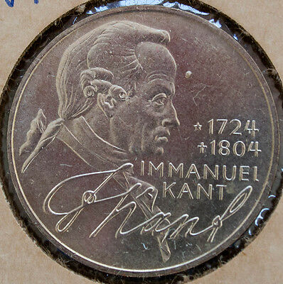 Germany 5 Marks 1974 Kant UNC