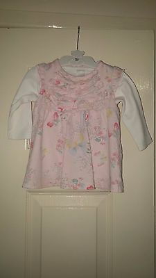 Baby Girls Pink Next Top & Blouse - Age 0- 3 months