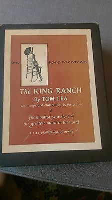 The King Ranch by Tom Lea ~ Volume Set in Slipcase ~ History