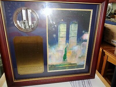 Bradford Exchange 9/11 Memorial Collectable Plaque Limited Edition