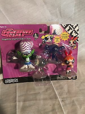 PowerPuff Girls TRIPLETS COLLECTIVE SET Blossom! RARE!!!