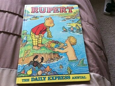 "Vintage ""RUPERT"" The Daily Express Annual 1975"