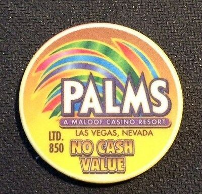 Las Vegas Palms Casino (2002)  10Th Annual Cc&gtcc Ncv Casino  Chip (Ltd 850)