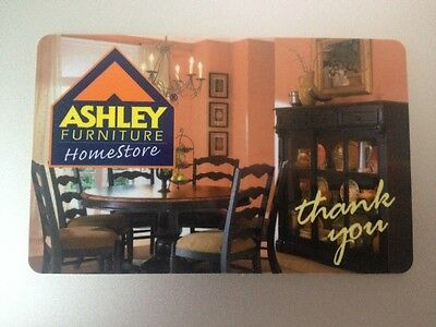 $300 Ashley Furniture Gift Card NO RESERVE!!!