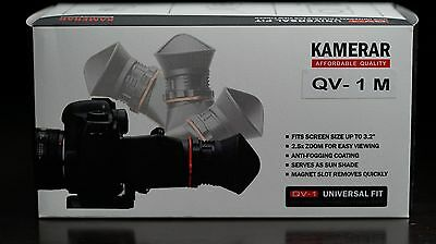 Kamerar QV-1 M LCD VIEW FINDER FOR MIRRORLESS CAMERAS CANON PANASONIC SONY