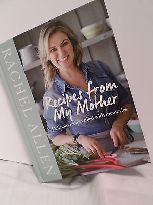 Recipes from My Mother by Rachel Allen Hardcover Memories  Cooking Brand New