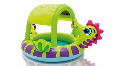 Intex Seahorse Baby Pool Inflatable Kids Summer Outdoor Water Activity