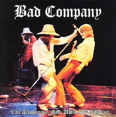 Bad Company Live Albuquerque 1976 2 Cd Set Import Of Print New Sealed