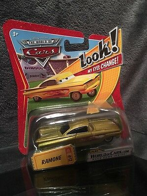 DISNEY PIXAR CARS Ramone Look My Eyes Change Mattel Rare