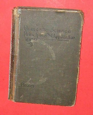 Antique Cookbook 1914 Domestic Science Principles and Application  First Edition