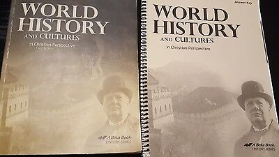 A Beka World History and Cultures, Third Edition.